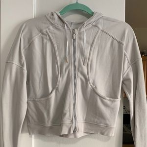 Lululemon crop zip up